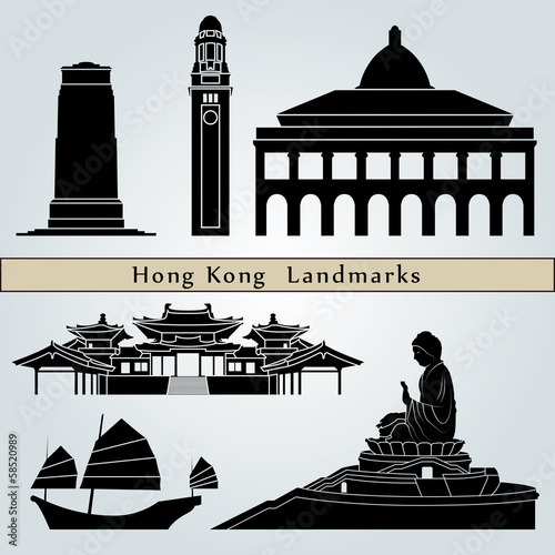 Hong Kong landmarks and monuments