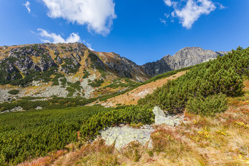 Beautiful view in the Tatra Mountains