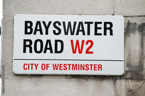 Bayswater Road a famous London Address