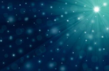 christmas blue background, illustration