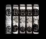 Sin of greed poster