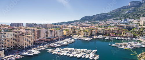 canvas print picture Monaco Hafen 2