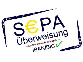 Stempel - SEPA Überweisung