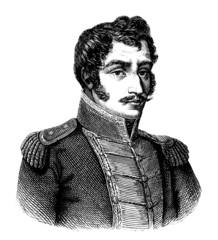 Man : Latin America  - Simon Bolivar - 19th century
