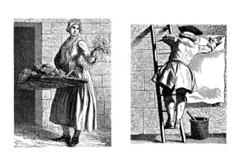 Parisian Workers - end 18th century