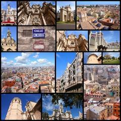 Valencia collage