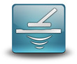 "Light Blue 3D Effect Icon ""Metal Detector"""