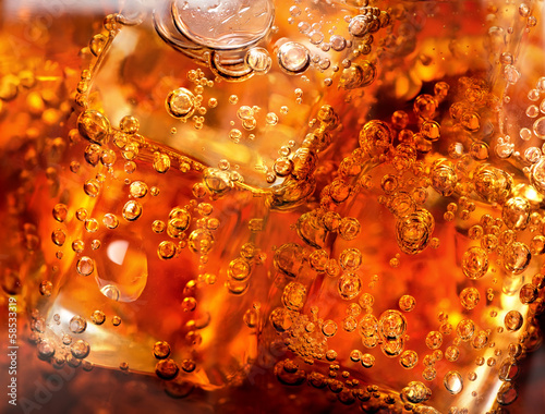 Background of cola