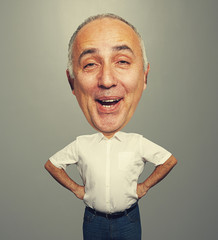 bighead funny laughing man