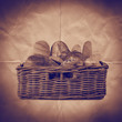 bread basket paper backdrop