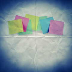 paper reminders backdrop