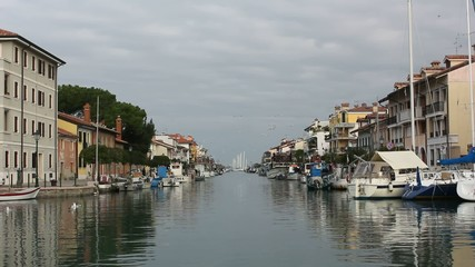 View of Grado, Italy, From the Water