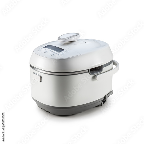 Multi Cooker on the white background, isolated