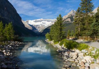 Path to Lake Louise