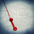 retro red phone paper backdrop