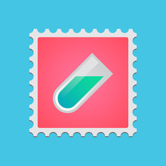 Post stamp with icon