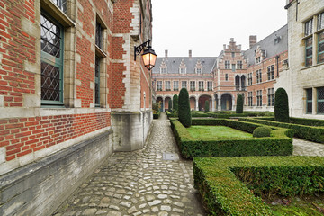 Inner courtyard of Margaret of Austria's Palace or Court of Savo