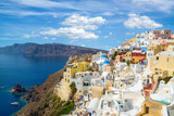 Gorgeous view of the Oia village, Oia, Santorini island, Greece