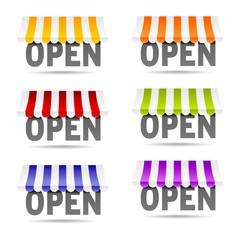 tienda open
