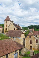French village in Perigord