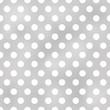 seamless polka dots grey pattern