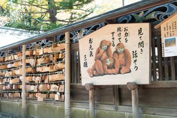 Votive picture at Chichibu Shrine,chichibu,Saitama,Japan