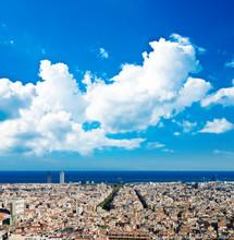 Paysage urbain de Barcelone. Espagne.