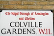 Colville Gardens a central London Address