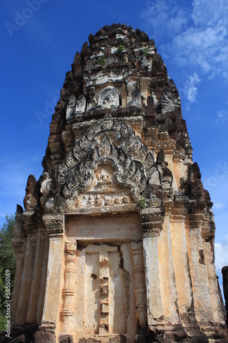 Pagoda,Prang in Sukhothai Historical Park,Sukhothai Province