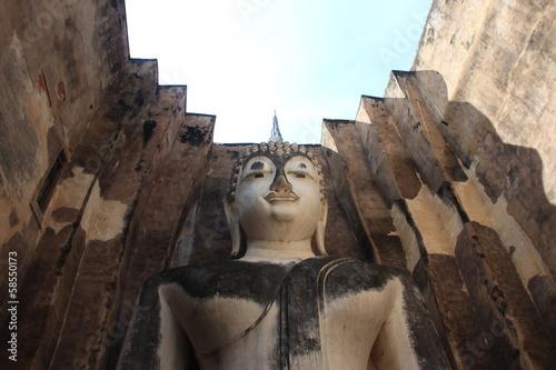 Phra Achana in Wat Si Chum at Sukhothai Historical park