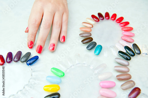 nail color choosing