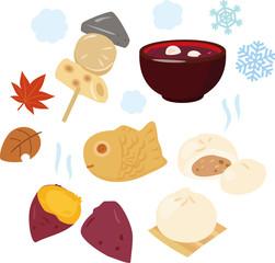 日本の冬の温かい食べ物