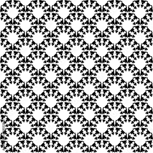 Design seamless monochrome decorative trellis pattern