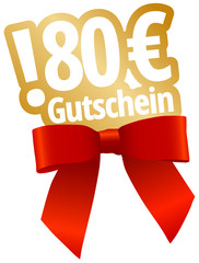 80 € Gutschein
