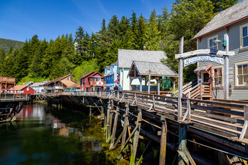 The Creek Street, Ketchikan Alaska