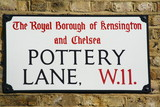 Pottery Lane a famous address in London