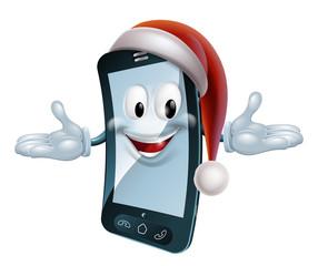 Christmas Mobile Mascot