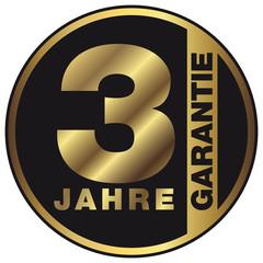 Garantie - 3 Jahre