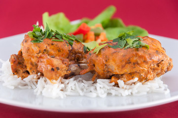 Chicken wings - Indian cuisine