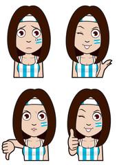 アルゼンチン代表サポーター3