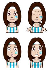 アルゼンチン代表サポーター1
