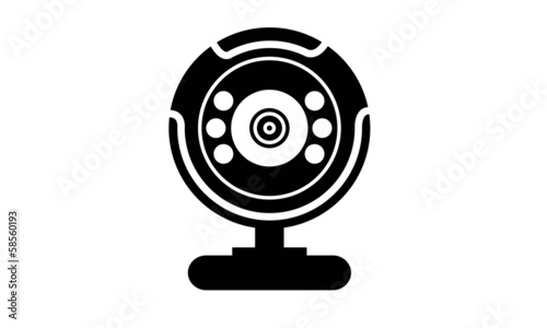 Webcam vector simple