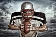 american Football - Wolkenhintergrund