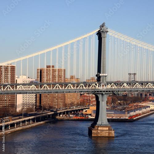 Foto op Aluminium New York New York City - Manhattan Bridge
