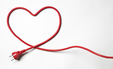 Heartshaped cable