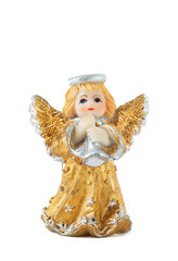 Little Gold Angel Statue
