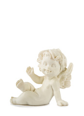 Little White Angel Statue