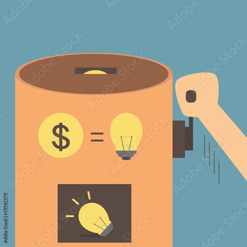 Idea vending machine