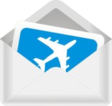 enveloppe avion