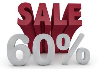 60 Prozent %